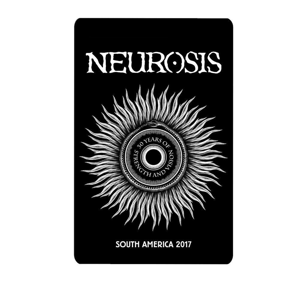 Neurosis - South America 2017 [Adesivo]