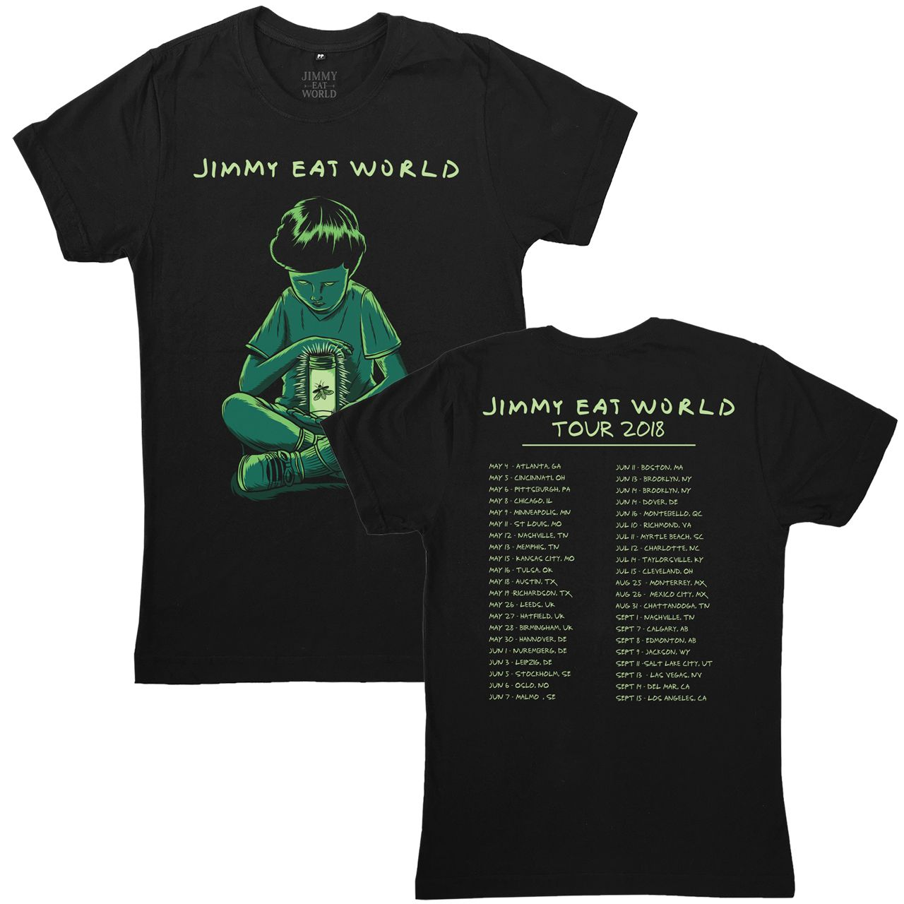 Jimmy Eat World - Firefly Tour 2018 [Camiseta Importada]
