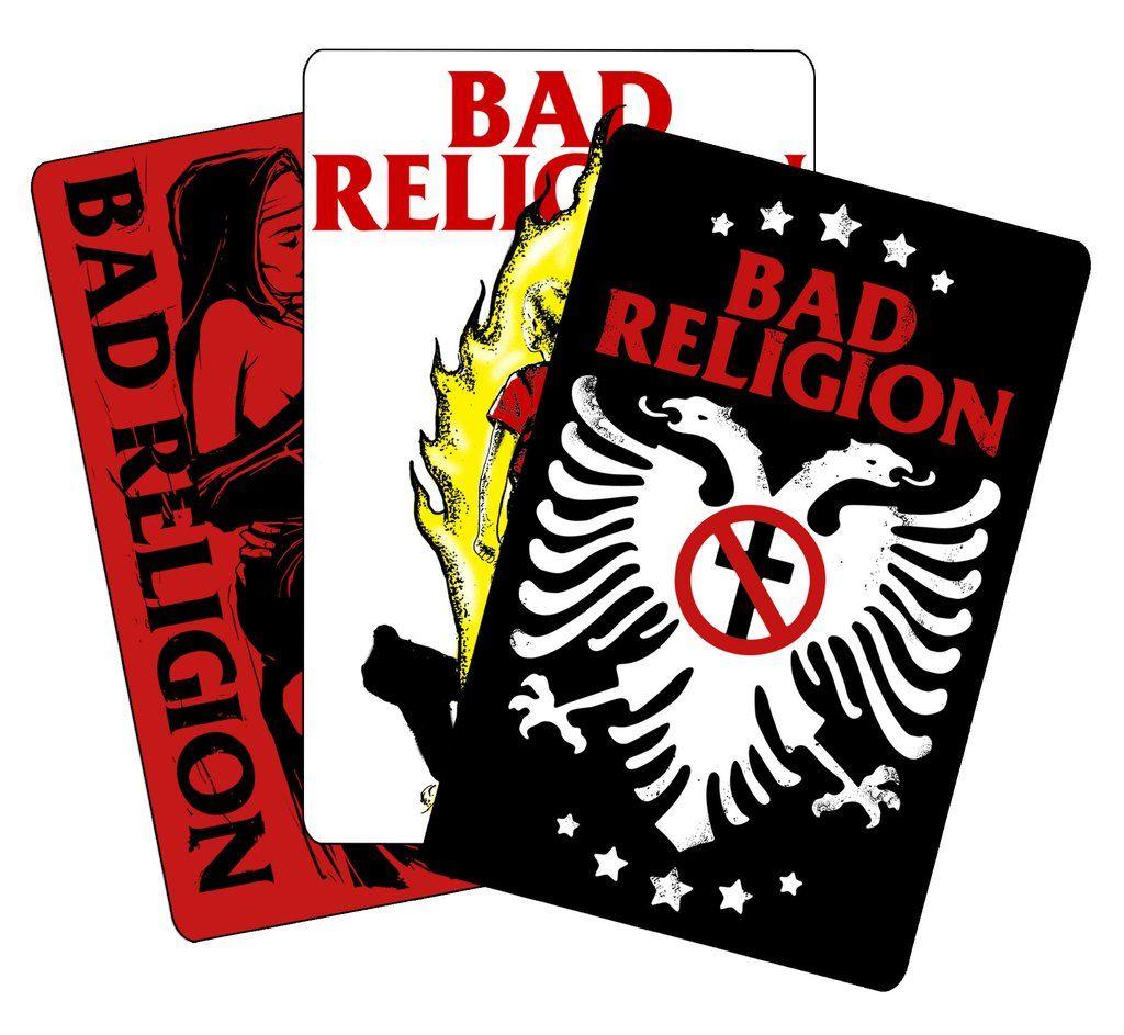 Bad Religion - Pack 3 Adesivos