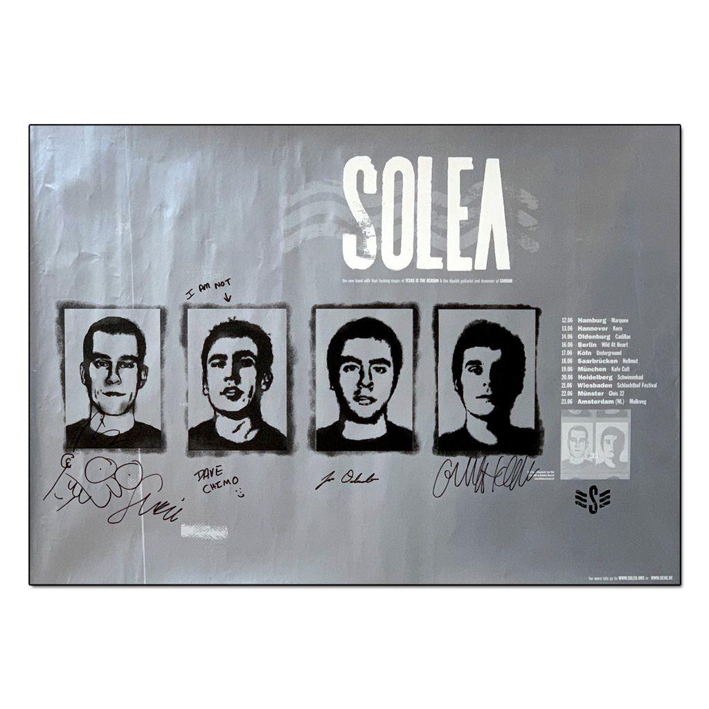 Solea - European Tour 2002 [Poster Autografado]