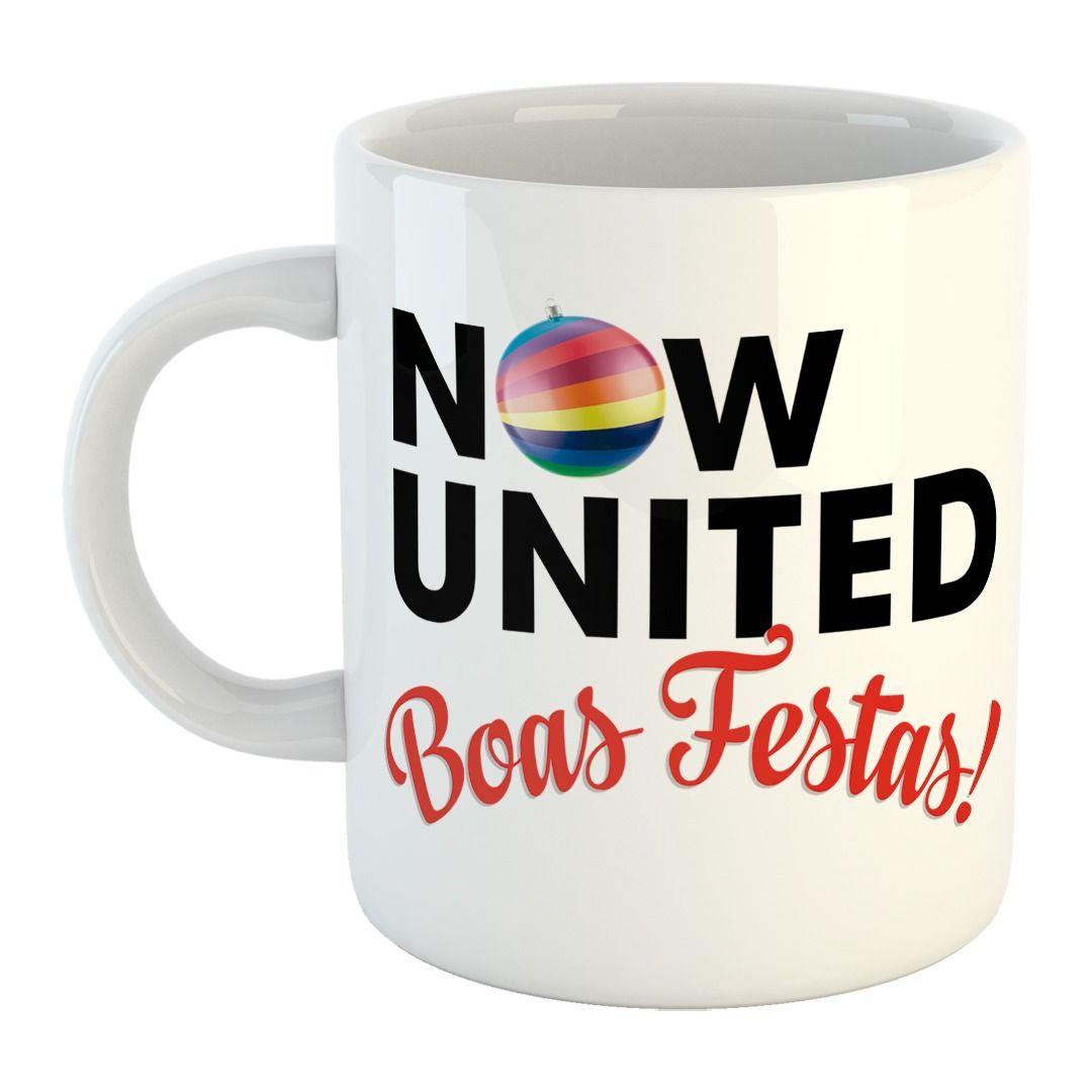 Now United - Boas Festas [Caneca]