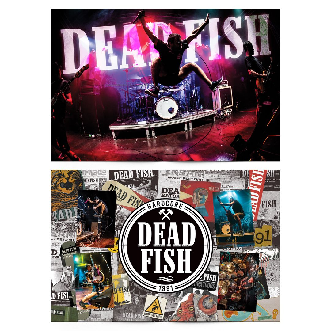 Dead Fish - 30 Anos [Pôster s/ Tubo]