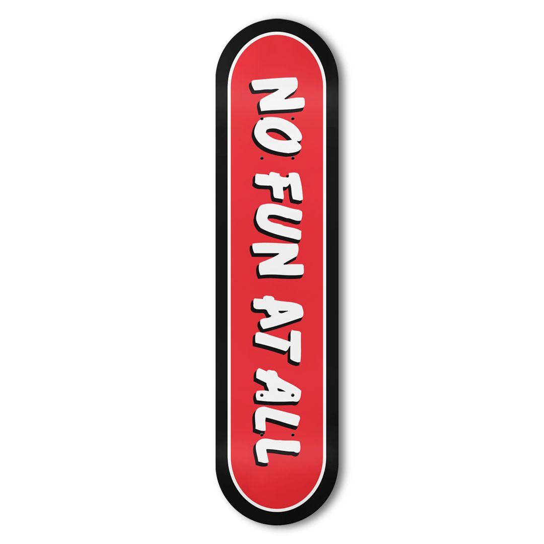 No Fun At All - Logo [Skateboard]