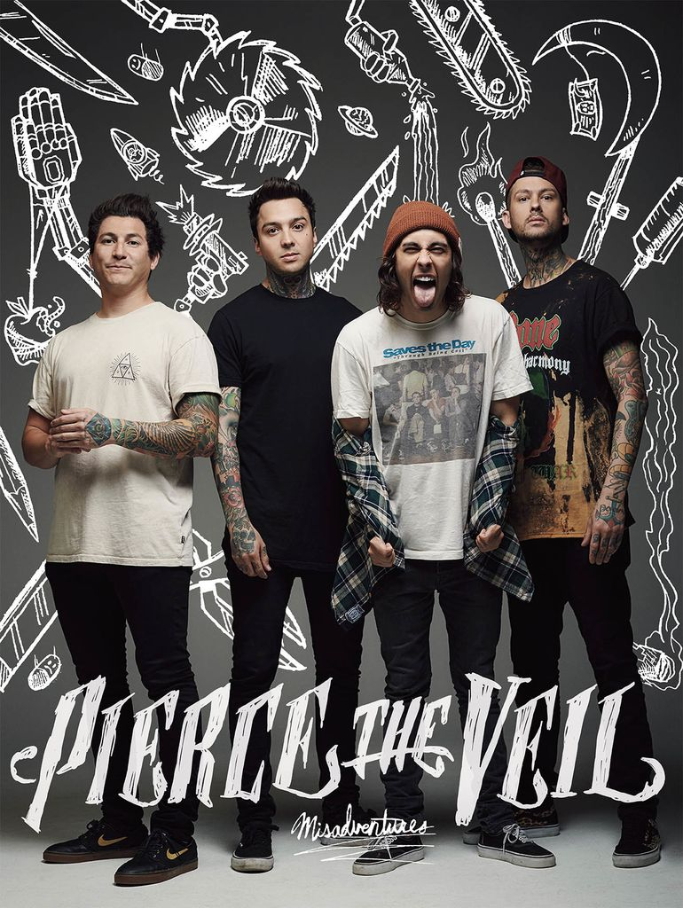 Pierce The Veil - Misadventures [Poster]