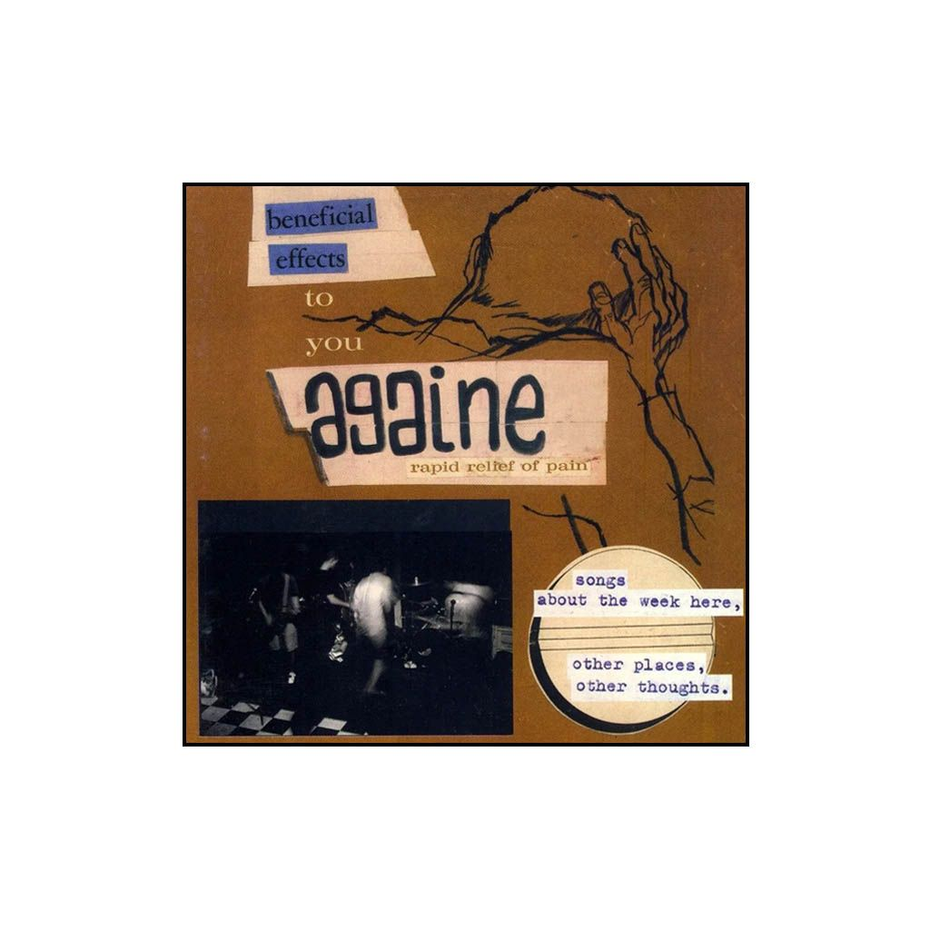 Againe - Songs About The Week Here, Other Places, Other Thoughts. [CD]
