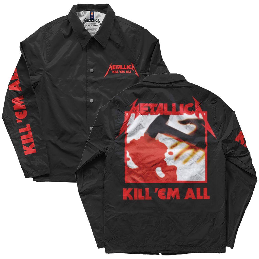 Metallica - Kill Em All [Windbreaker]