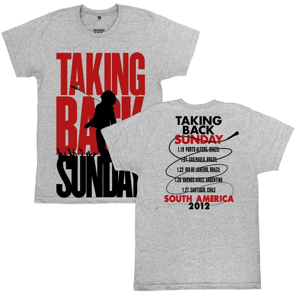 Taking Back Sunday - South America Tour 2012