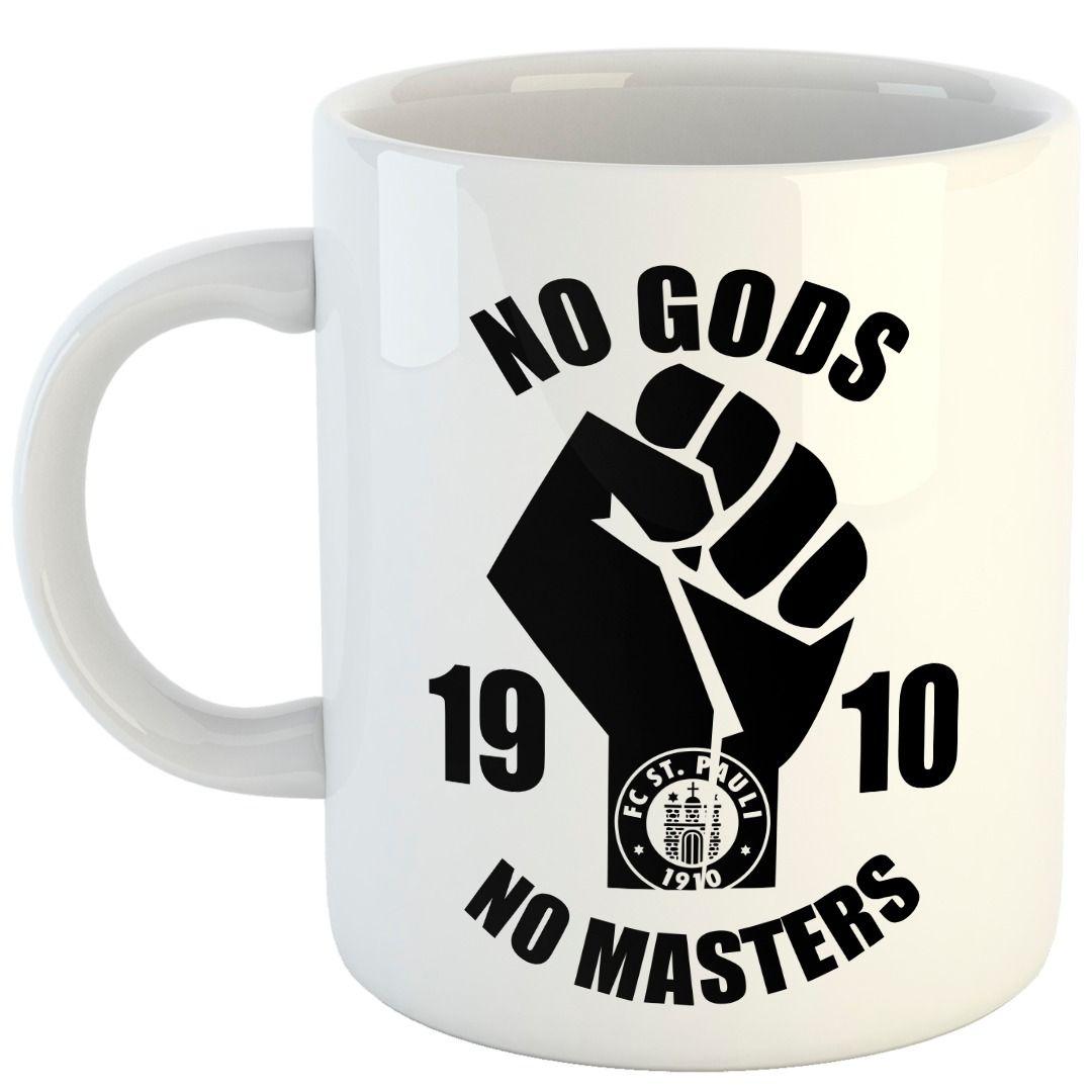 St. Pauli - No Gods No Masters [Caneca]
