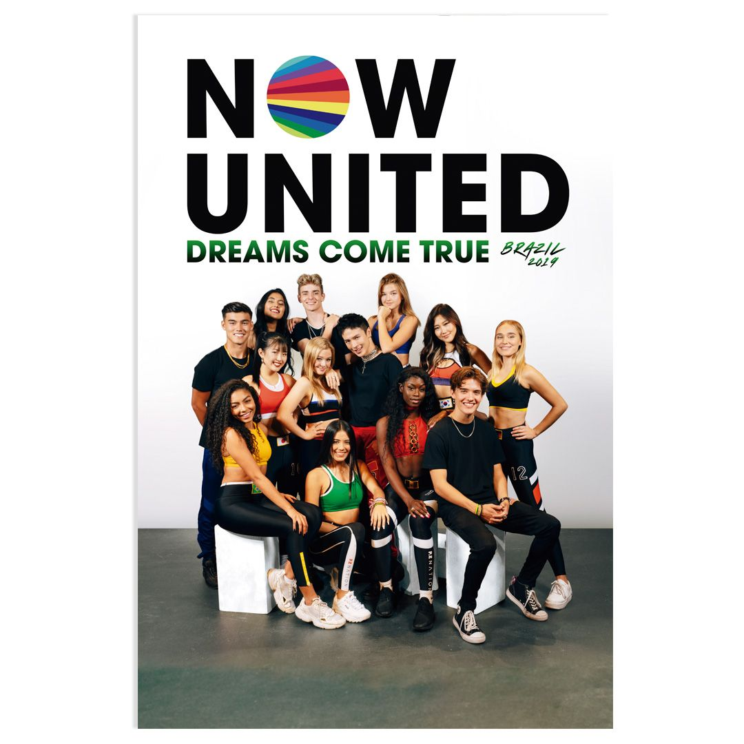 Now United - Dreams Come True Brazil 2019 [Pôster c/ Tubo]