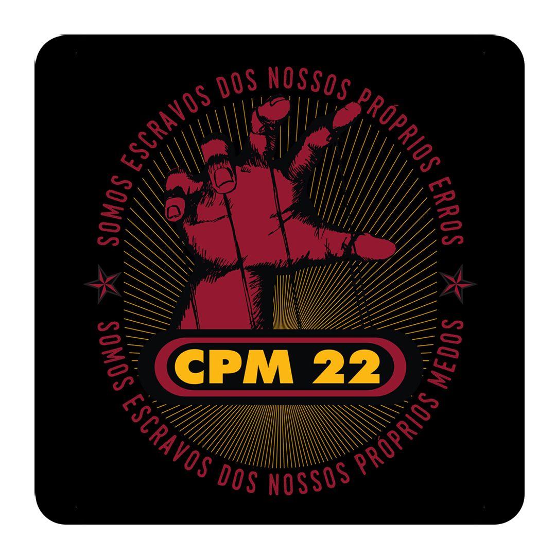 CPM 22 - Escravos dos Nossos Próprios Erros [Adesivo]