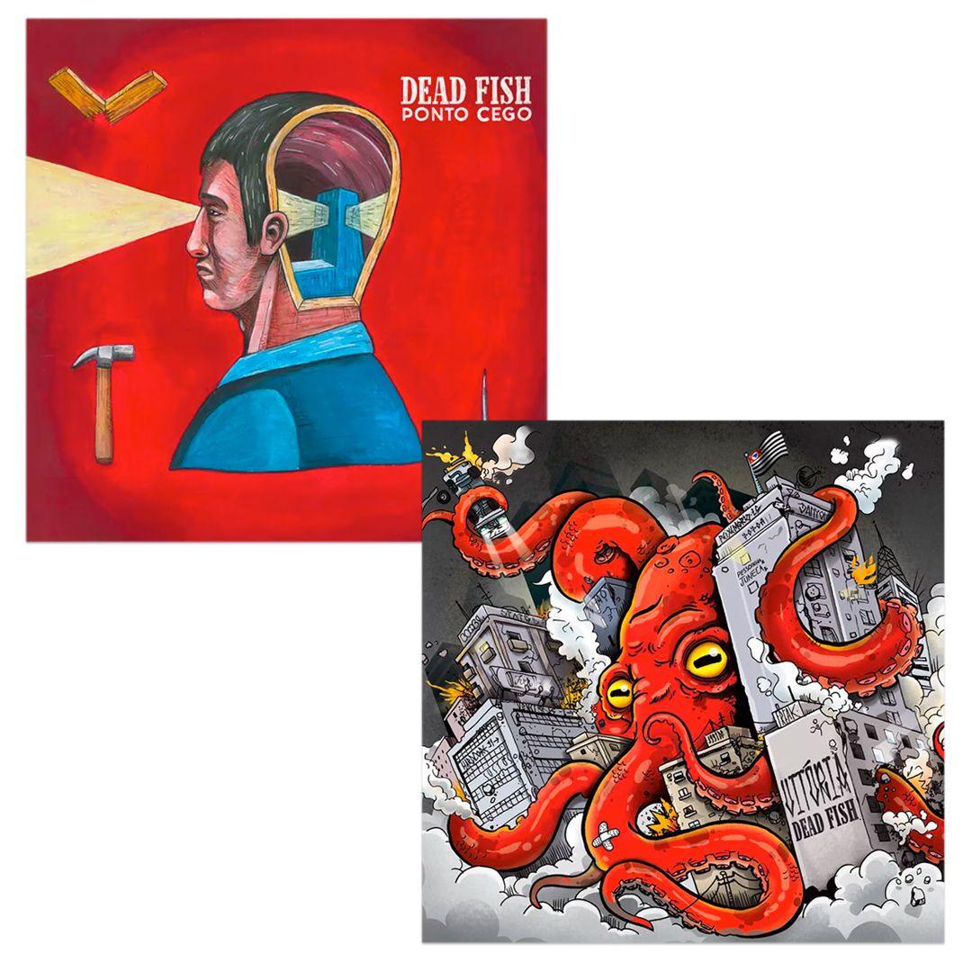 Combo: Dead Fish - Vitória + Ponto Cego [CDs]