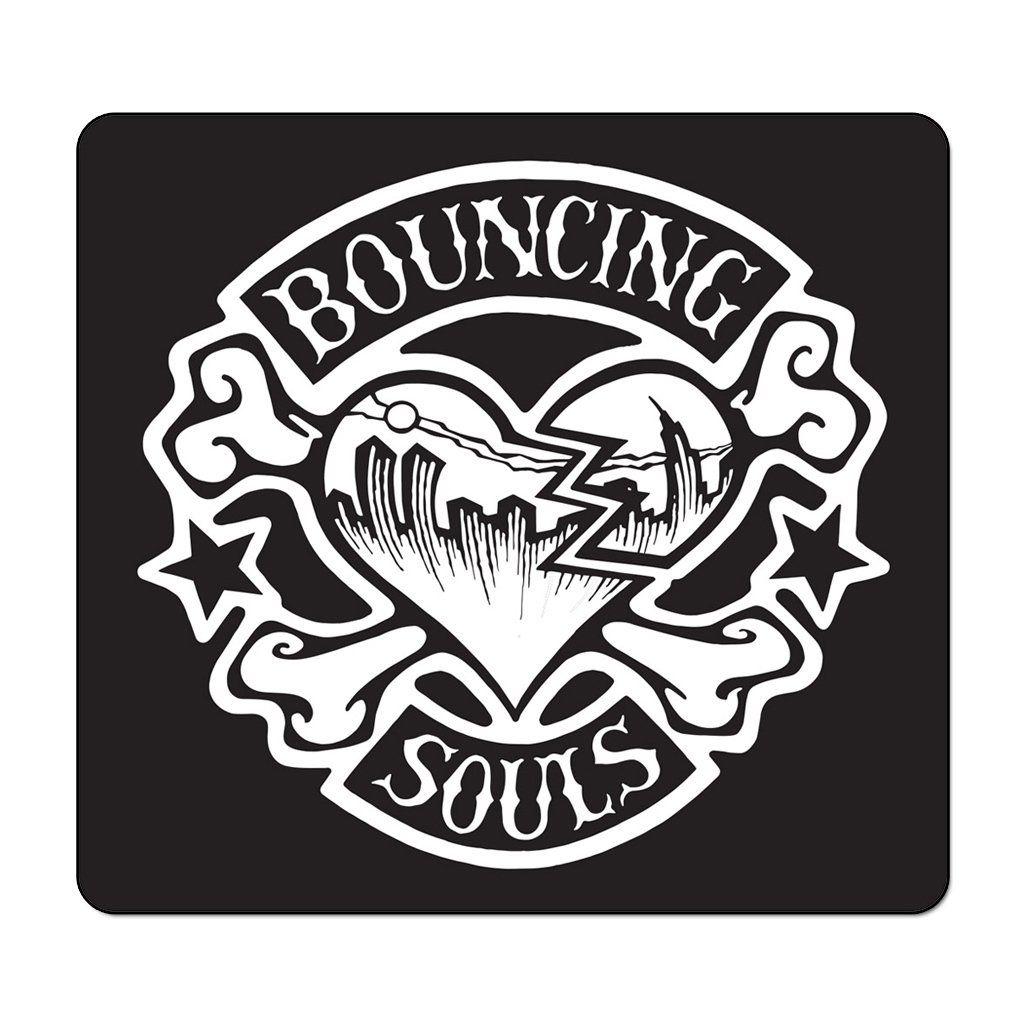 Bouncing Souls - Rocker Heart [Adesivo]