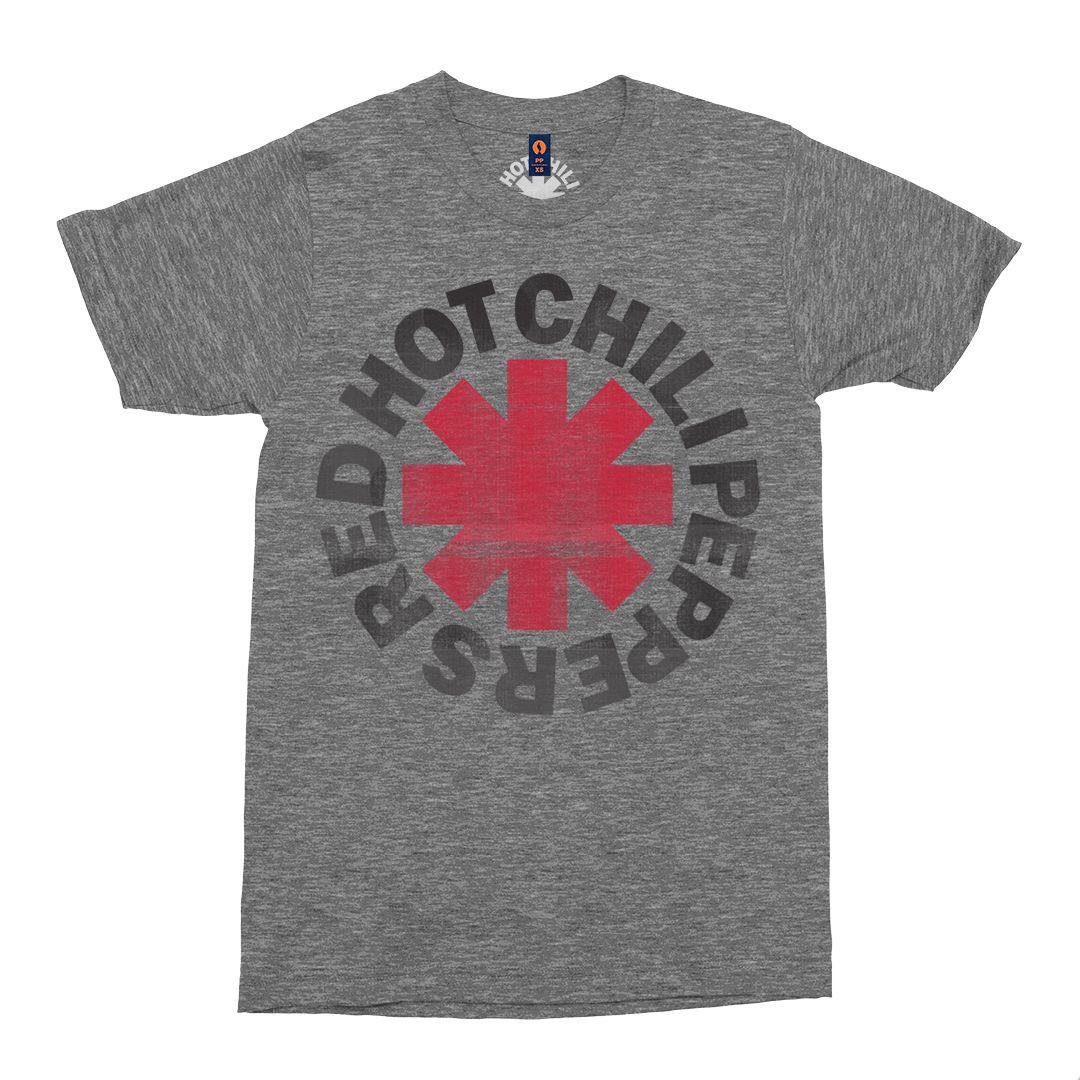 Red Hot Chili Peppers - Asterisk Logo [Cinza Mescla]