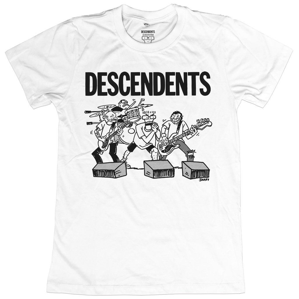 Descendents - Live Cartoon [Branca]