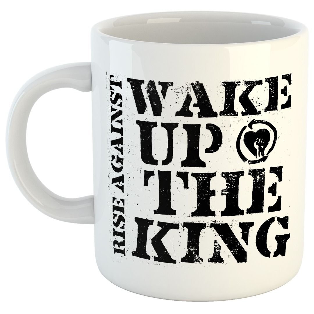 Rise Against - Wake Up The King [Caneca]