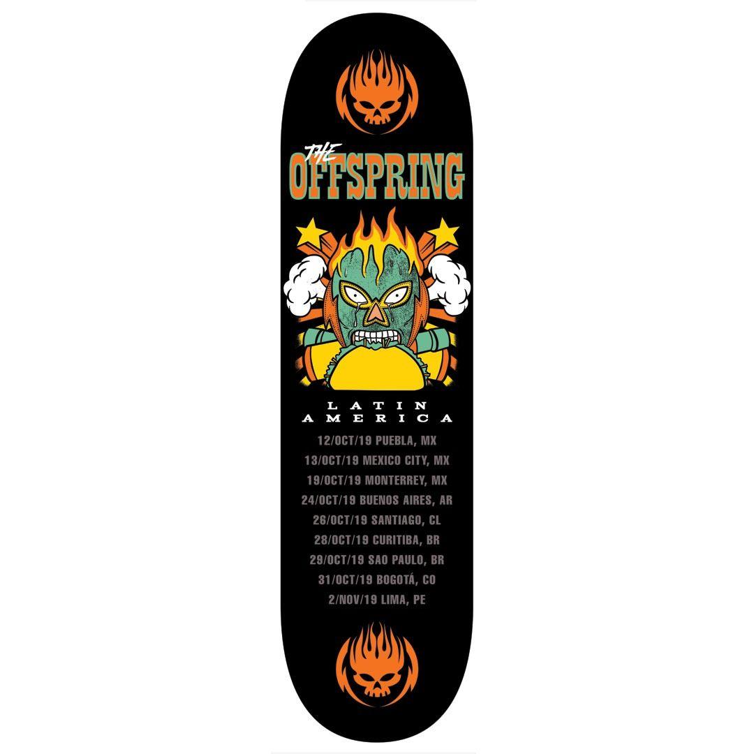 The Offspring - Fall 2019 Mask Tour [Skateboard]