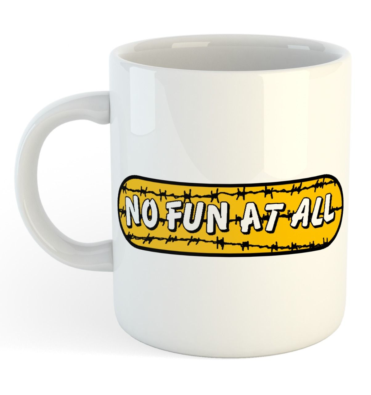 No Fun At All - Illegal [Caneca]
