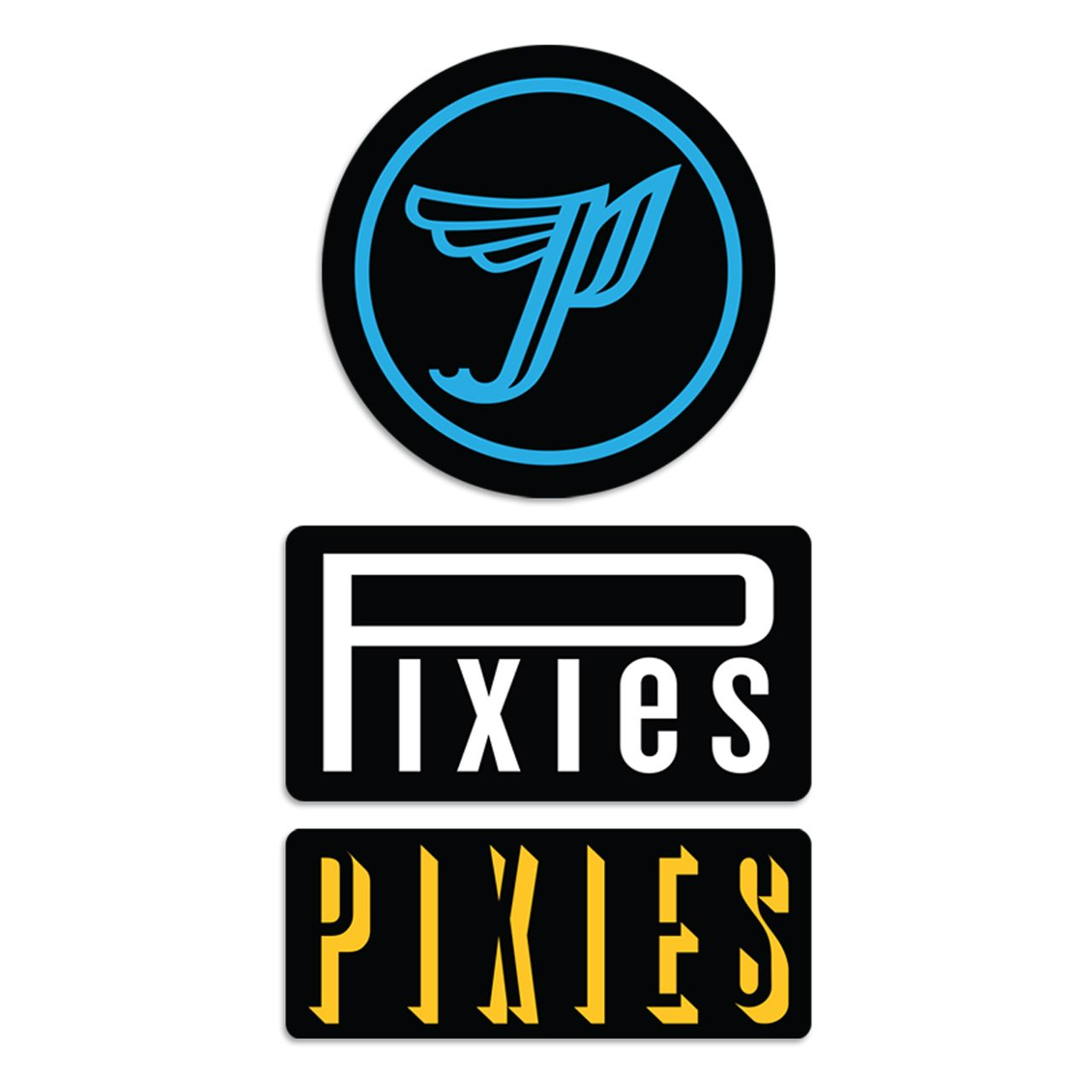 Pixies - Sticker Pack [Adesivos]