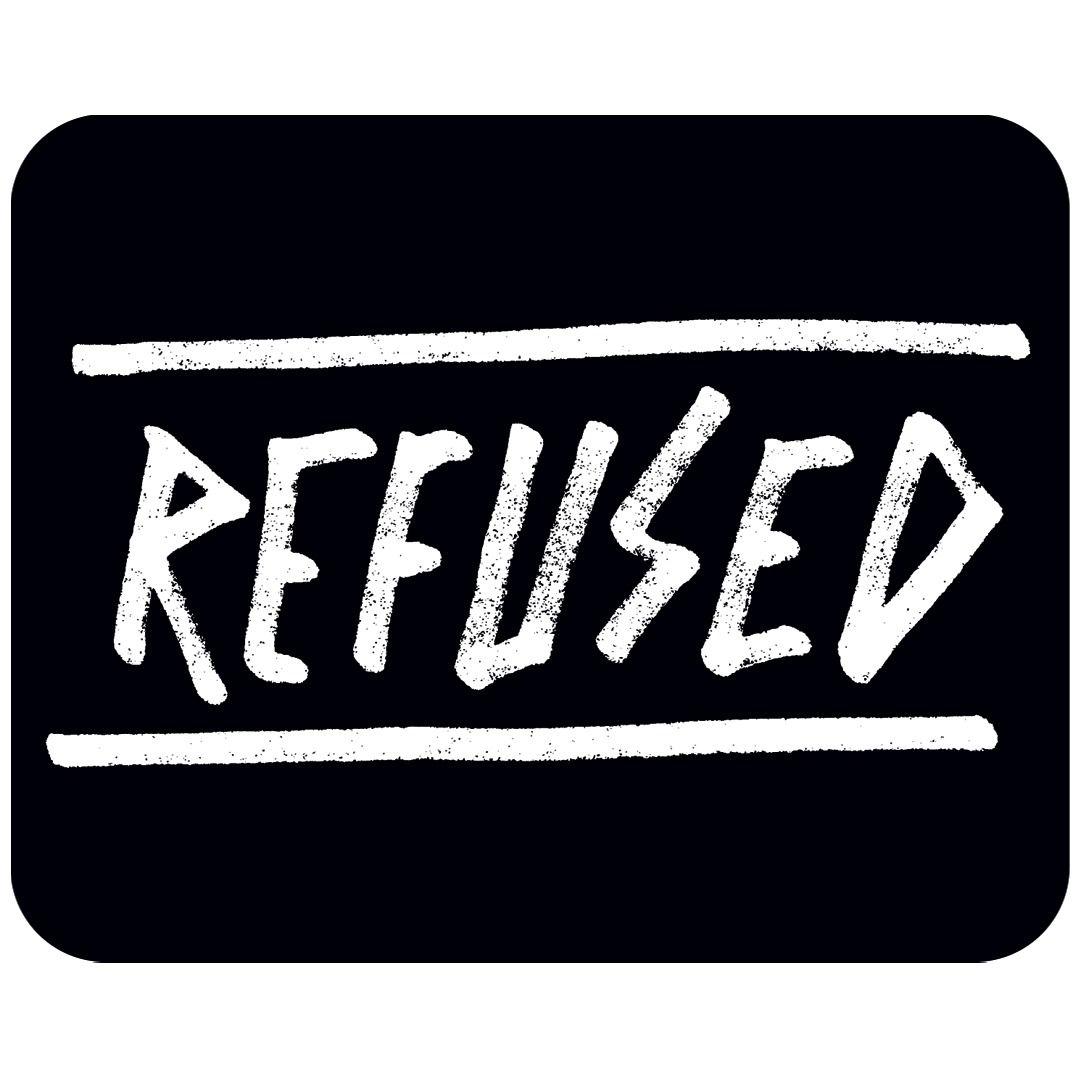 Refused - OG Logo [Adesivo]