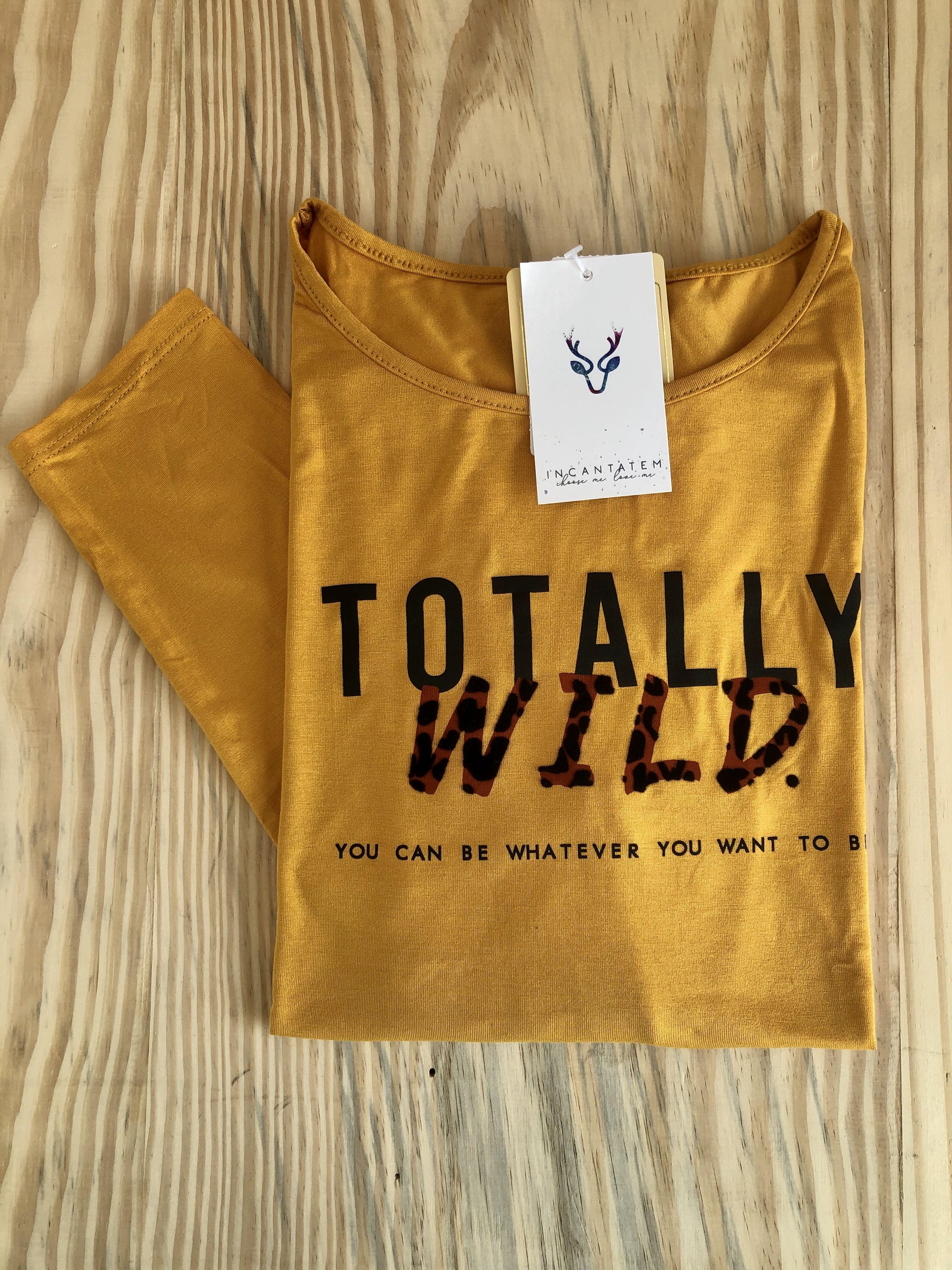 Blusa Wild Amarela
