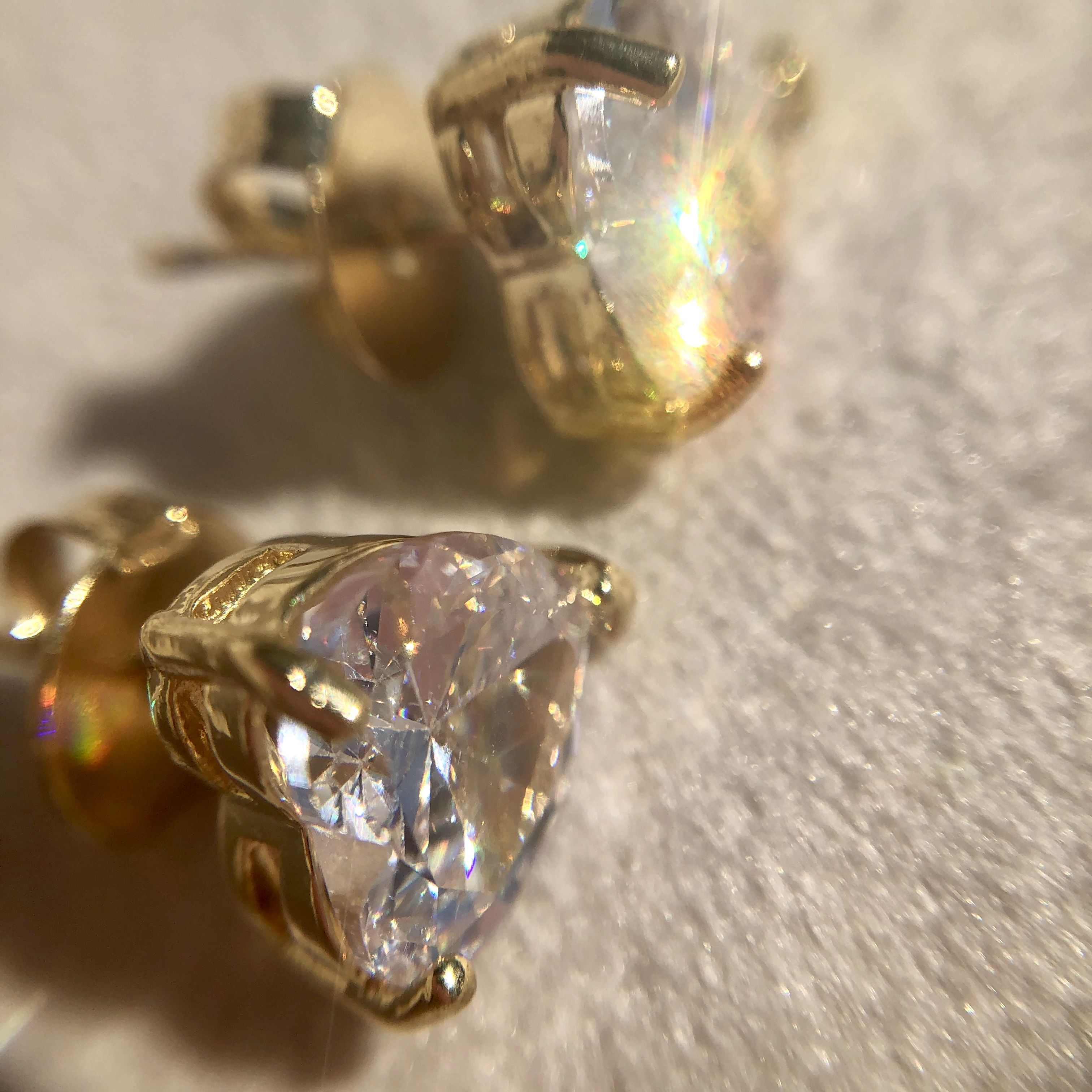 Conjunto Coração Cristal