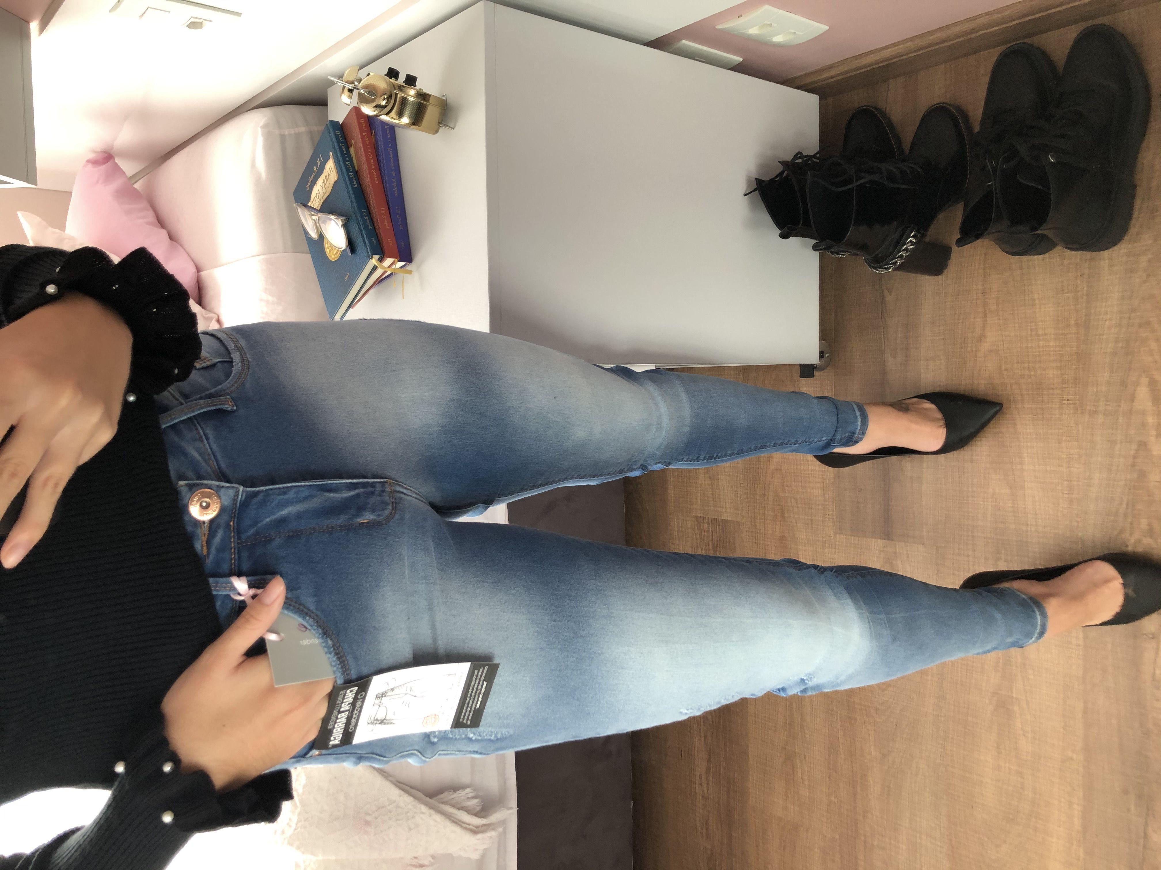 Calça Jeans Segunda Pele Lílian