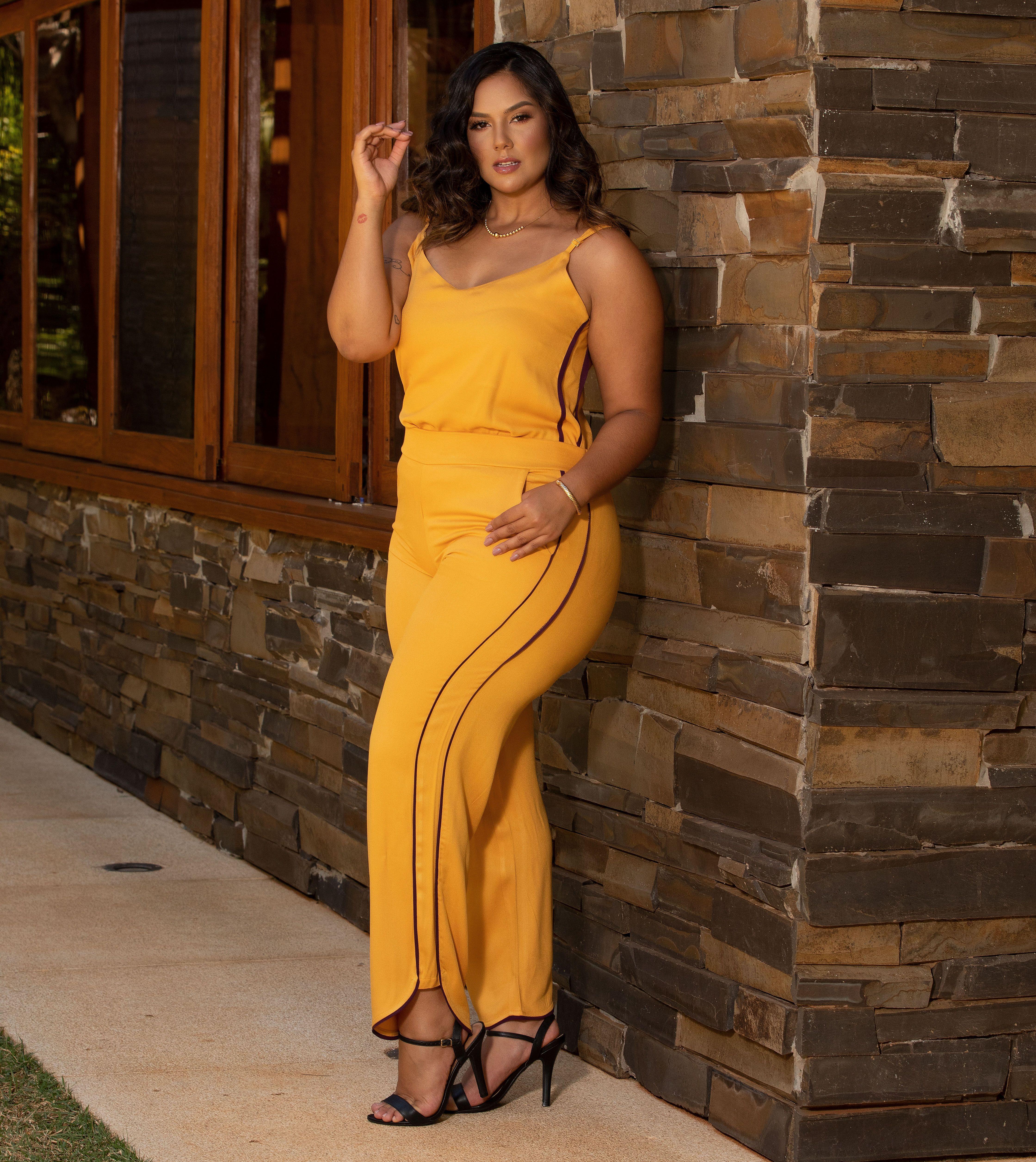Blusa Hala - Amarelo