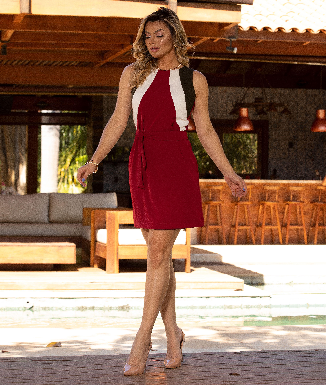 Vestido Giane - Marsala
