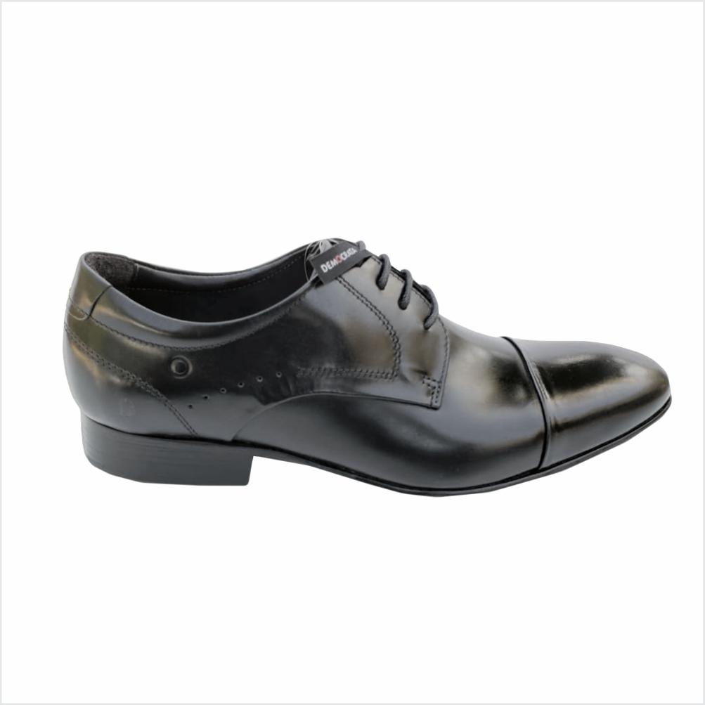 Sapato Democrata Caster Preto
