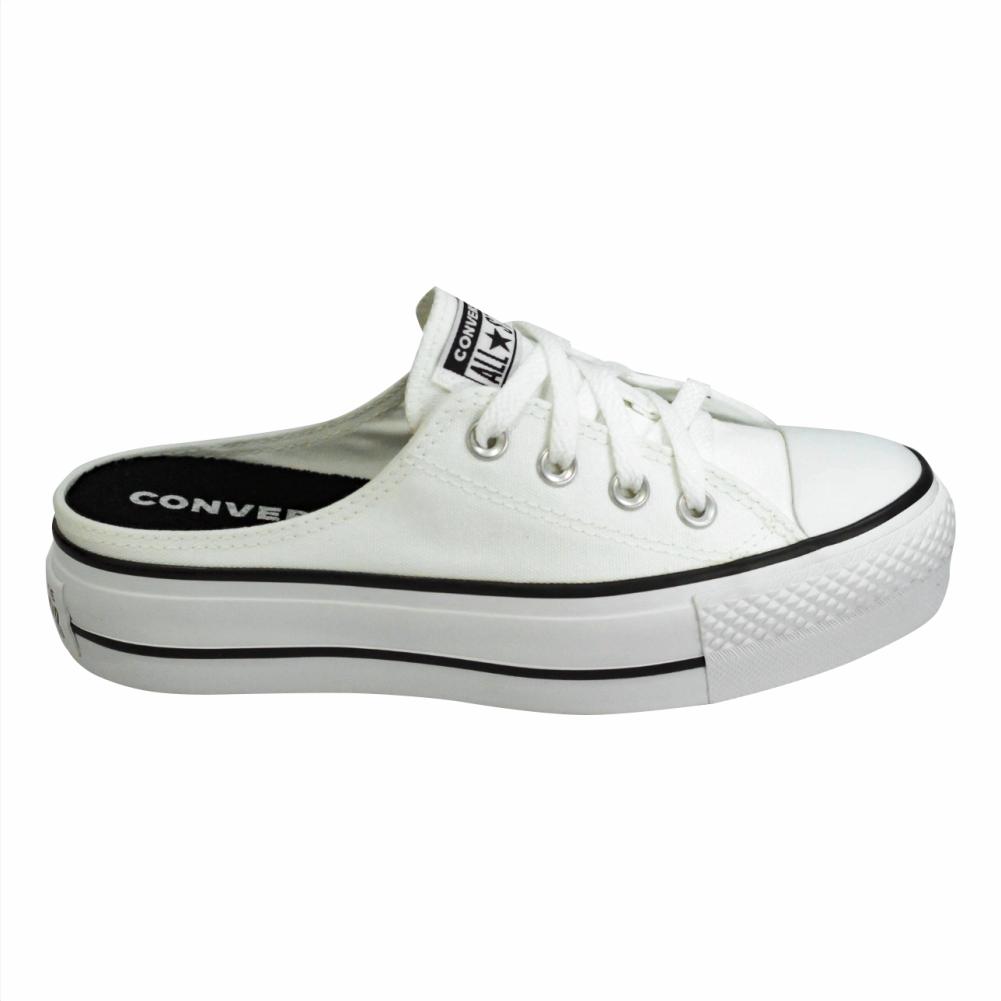Tênis Converse Chuck Taylor All Star Mule Branco - CT12100005