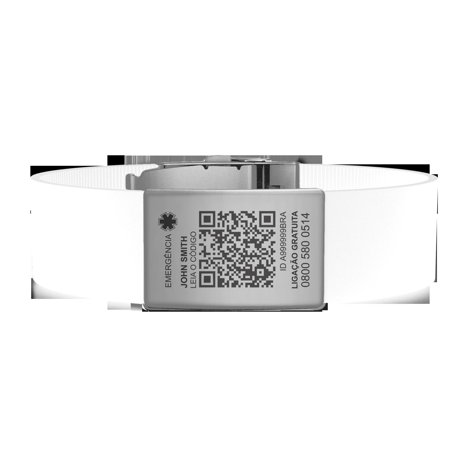 Pulseira QR Silver (adicional)