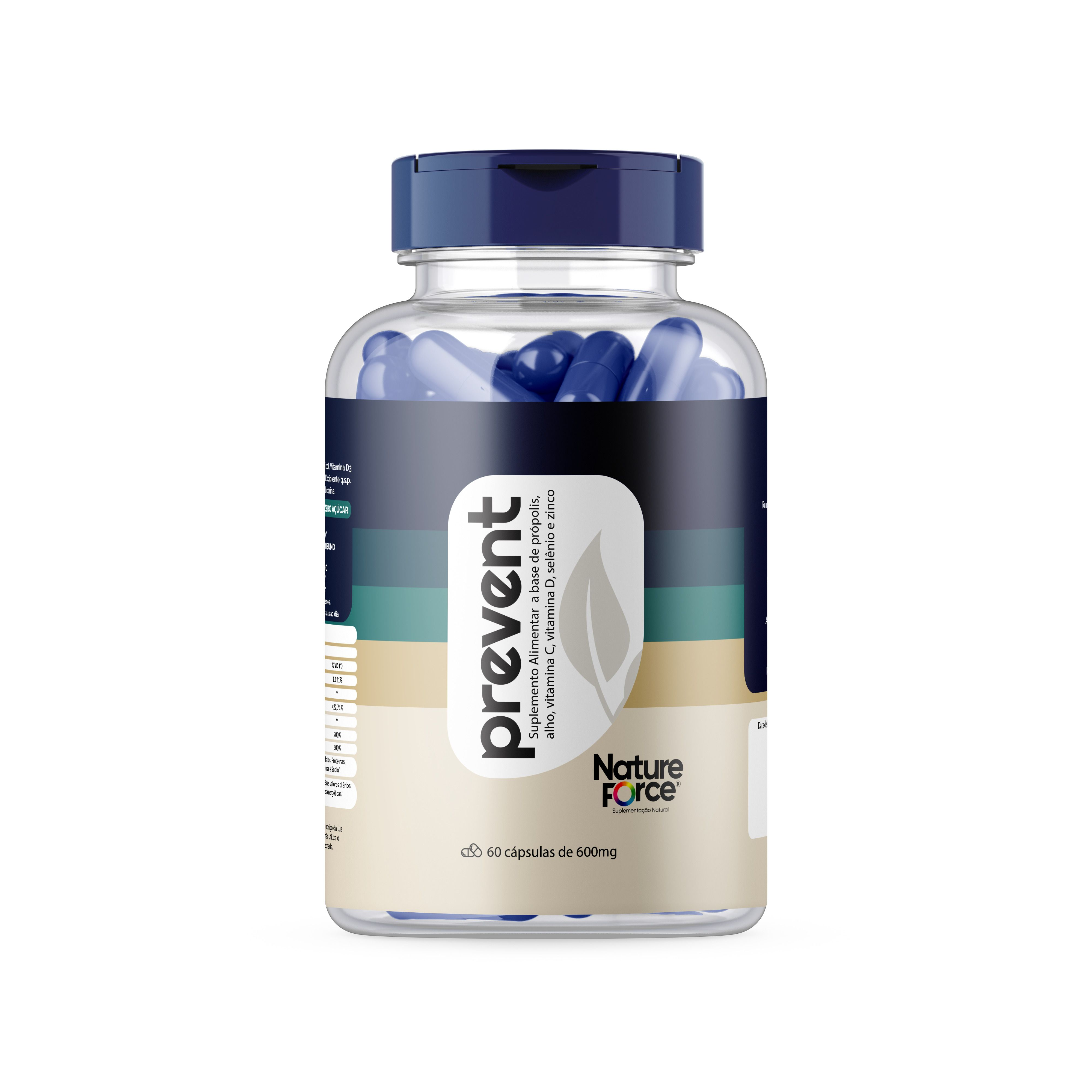 Vitamina Anti-Gripal (PREVENT) 600mg 60 cáps