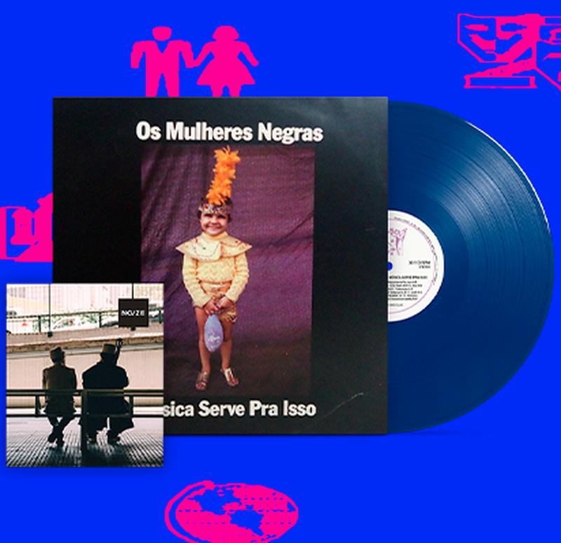 Os Mulheres Negras - Música Serve Pra Isso (1990)