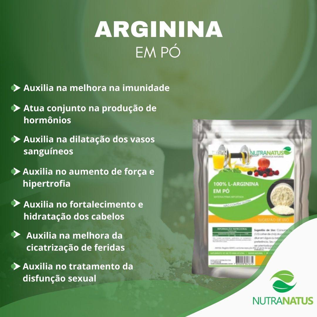 Arginina em Pó HCL 1kg