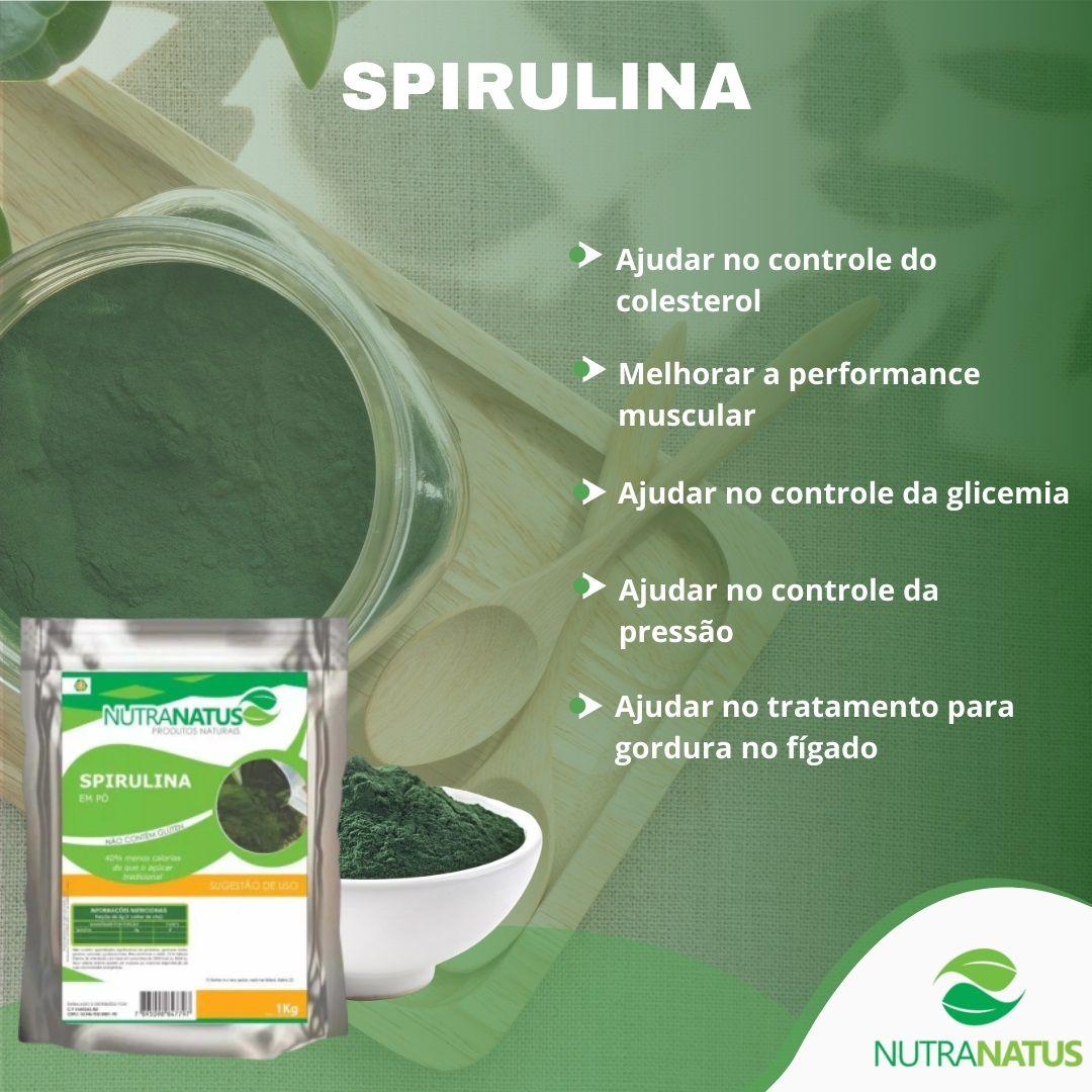 Combo Clorela 1kg + Spirulina 1kg