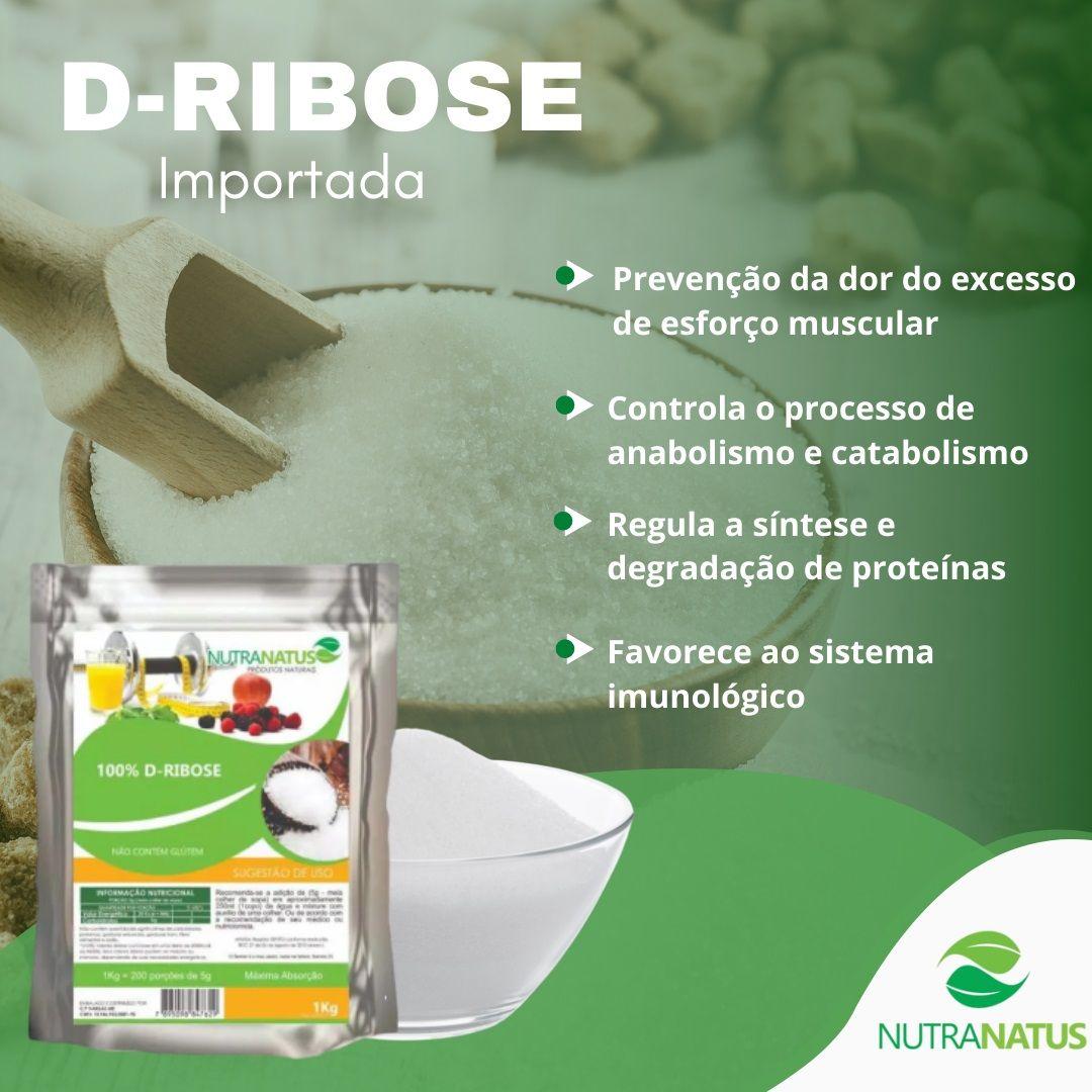 D-ribose Importada 600g
