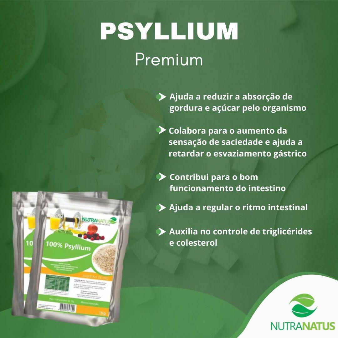 Psyllium Husk Granulado Premium 1kg