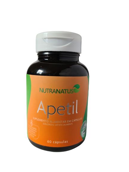 Apetil - Inibe o apetite e acelera o metabolismo (60 cápsulas)