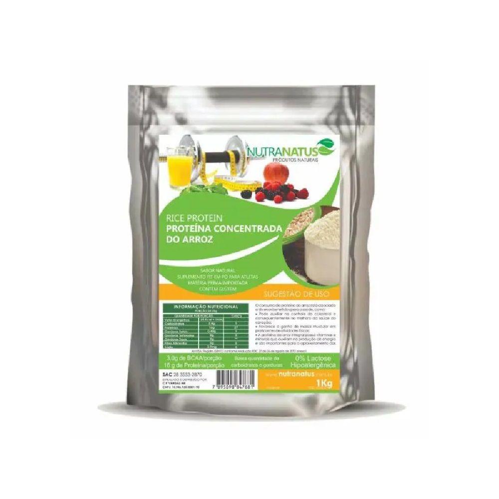 Proteína Concentrada Arroz 2kg Vegana Importada Rice Protein