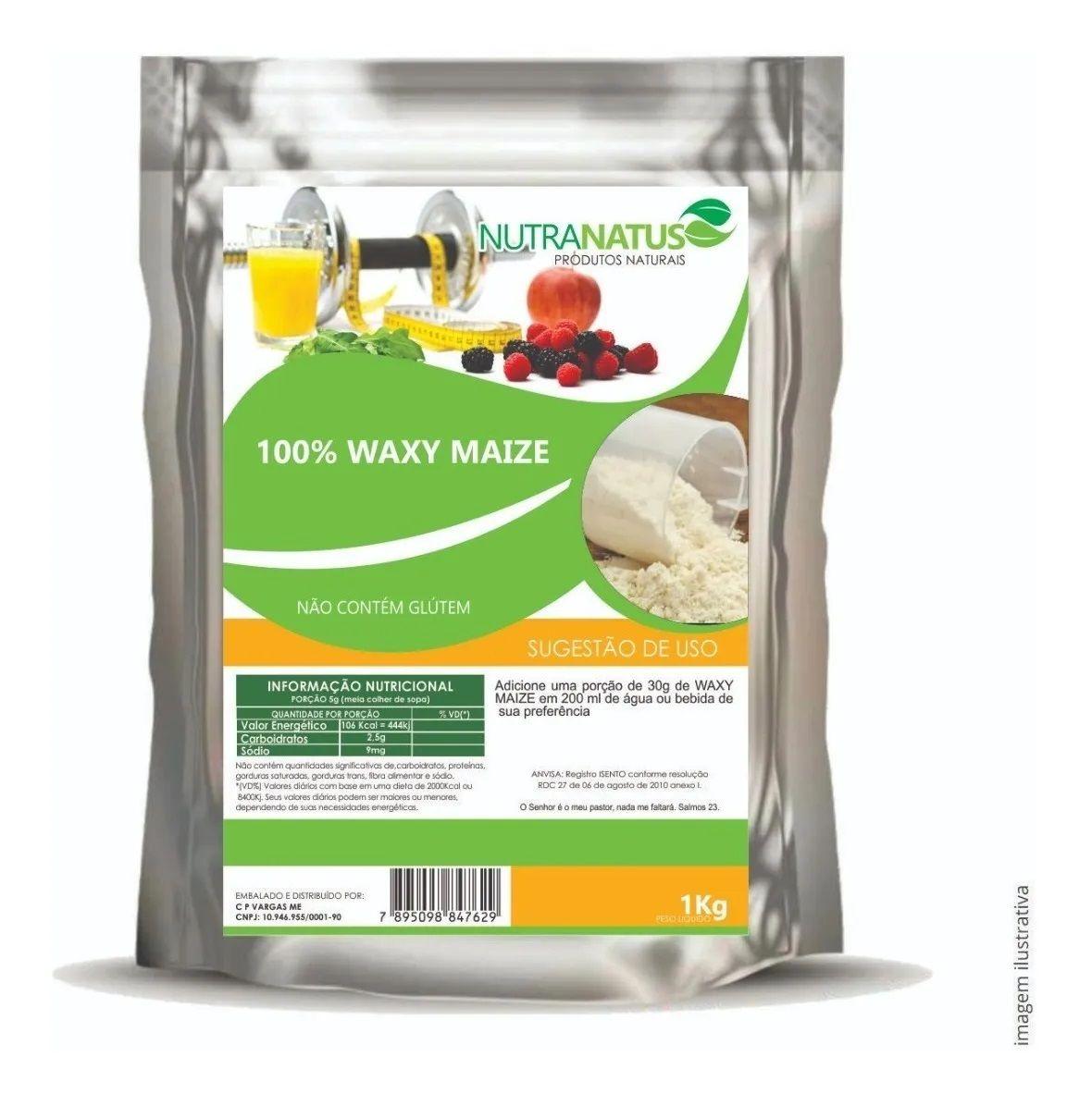 Waxy Maize 1kg - Natural