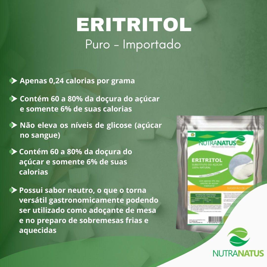 Eritritol 3kg Importado