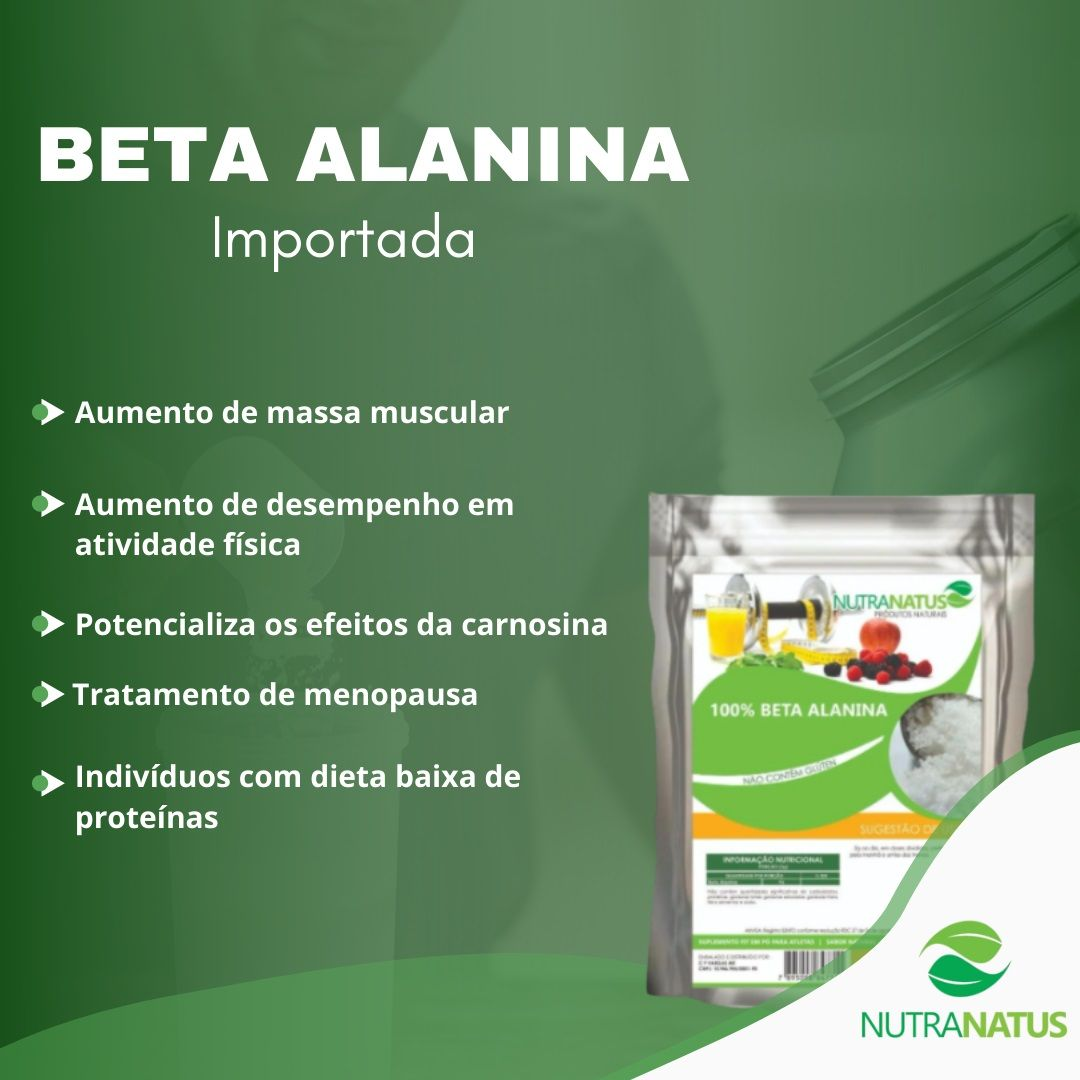 Beta Alanina 200g Importada