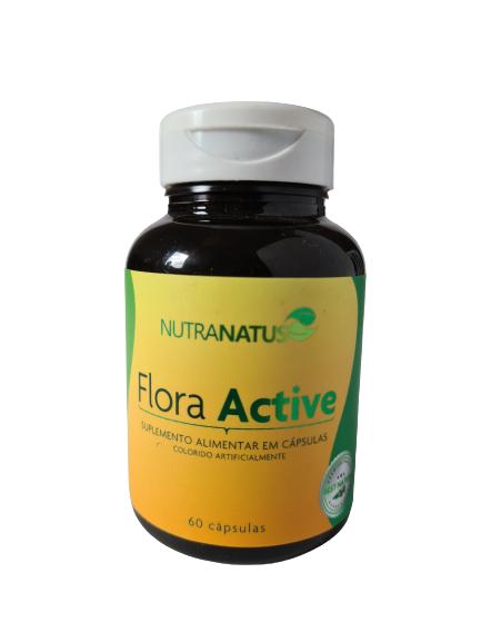 Flora Active flora intestinal reduz a glicemia (60 cápsulas)