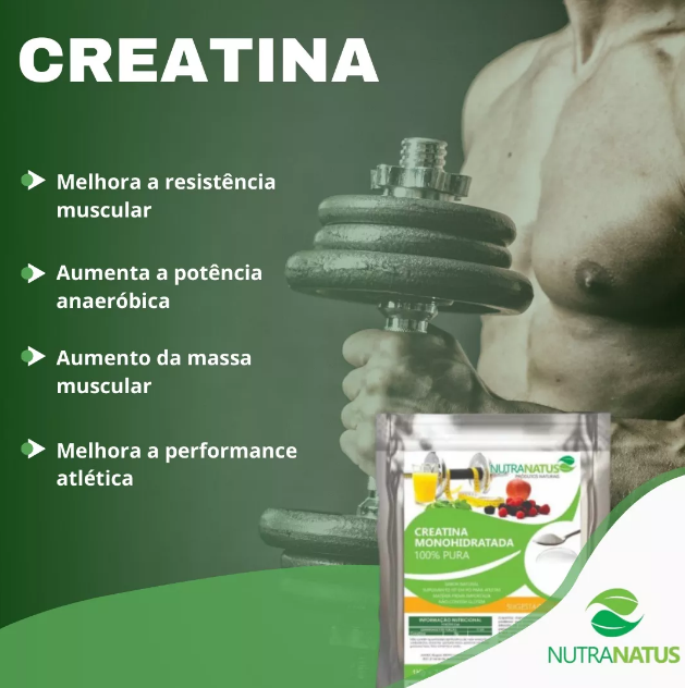 Creatina Monohidratada Importada 1kg Importada