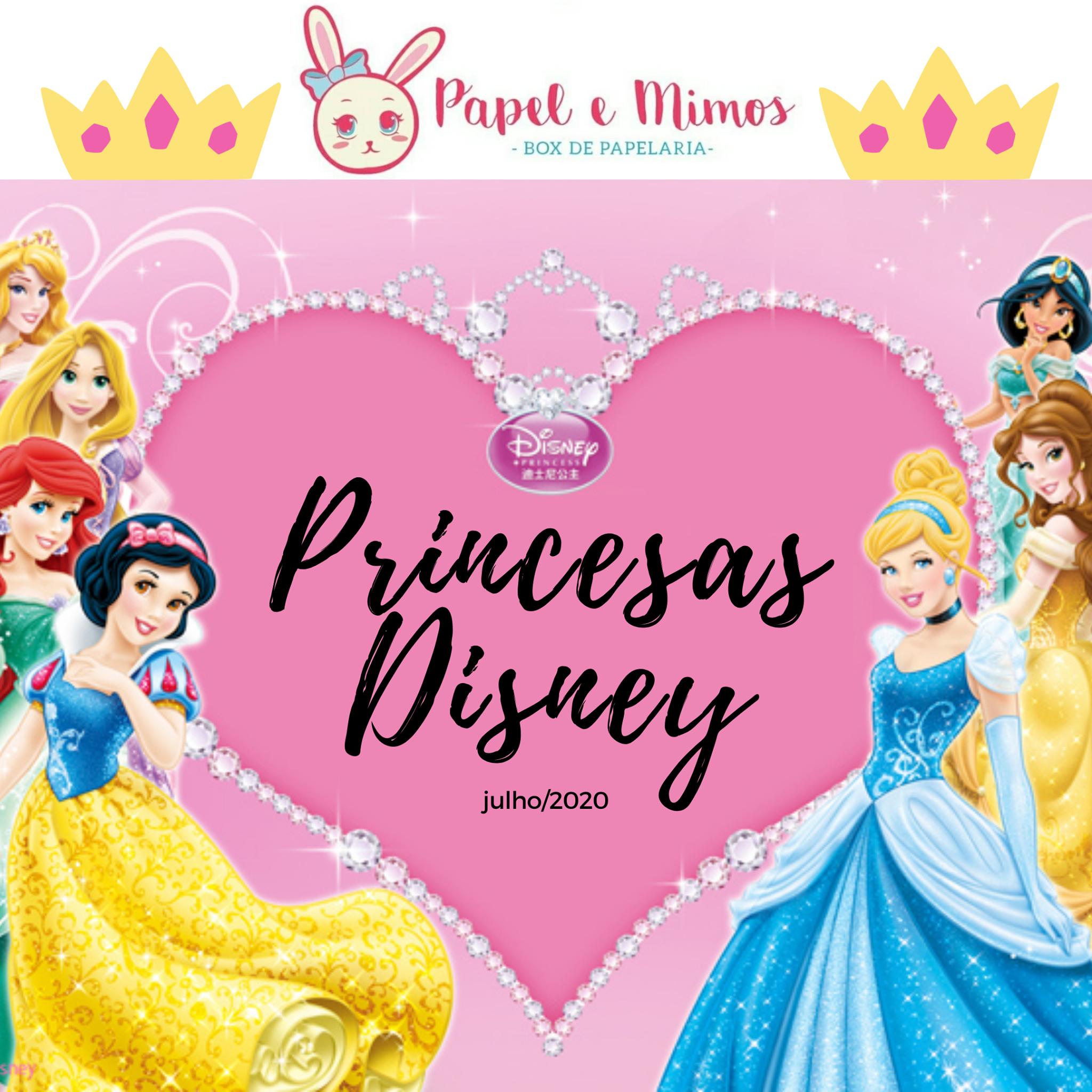Box Princesas Disney