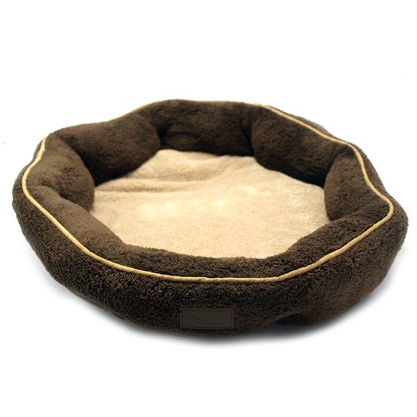 Caminha Octógono em Microtek (tecido anti-microbiano), com enchimento de bolas siliconadas que propiciam conforto total ao seu pet