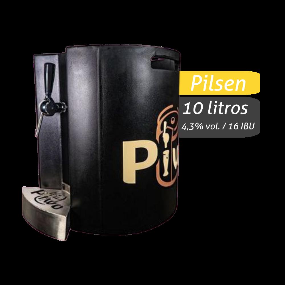 10 Litros - Chopp Artesanal: Pilsen