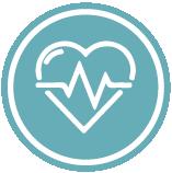ícone saúde física