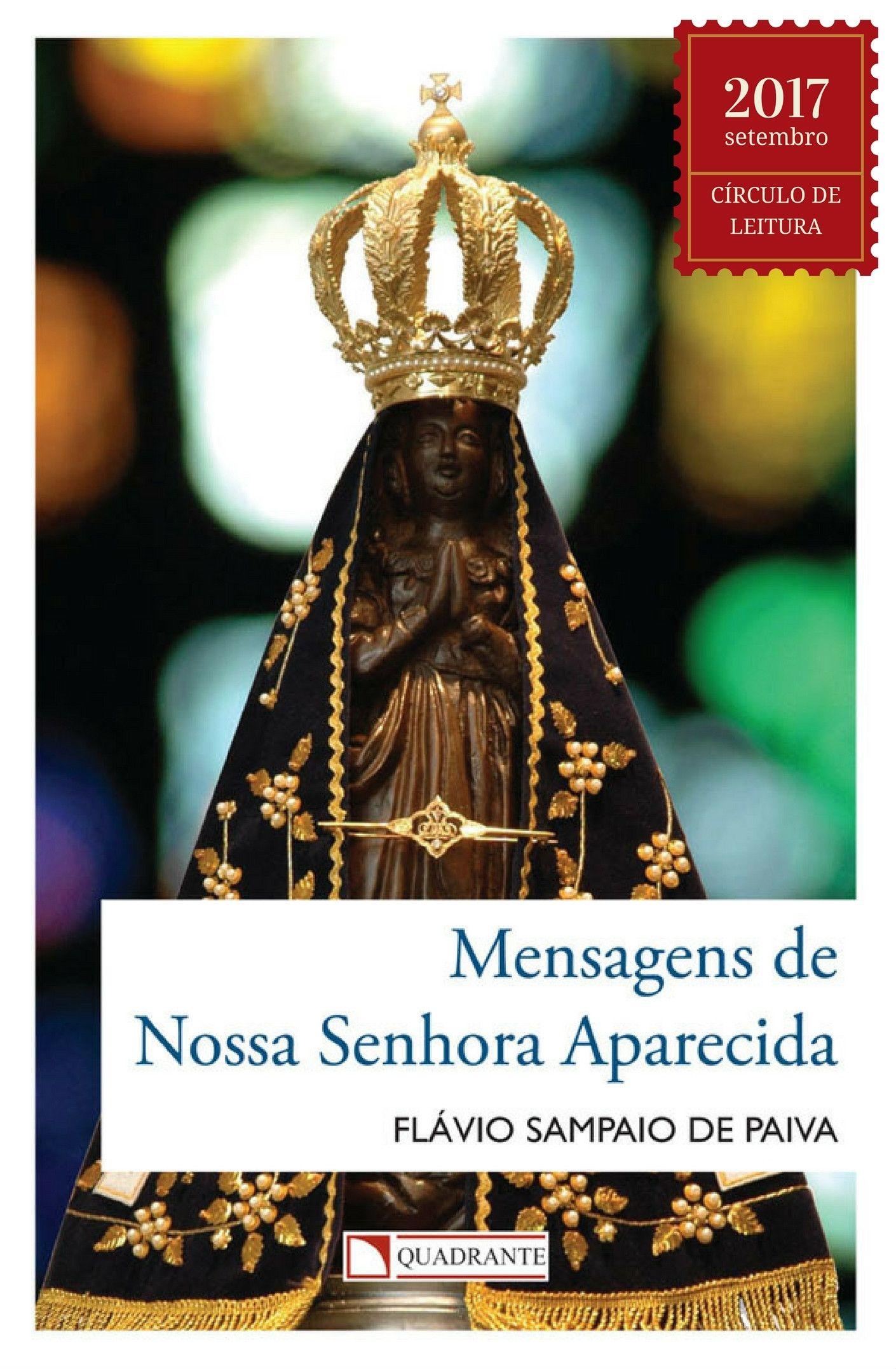 Livro Mensagens de Nossa Senhora Aparecida