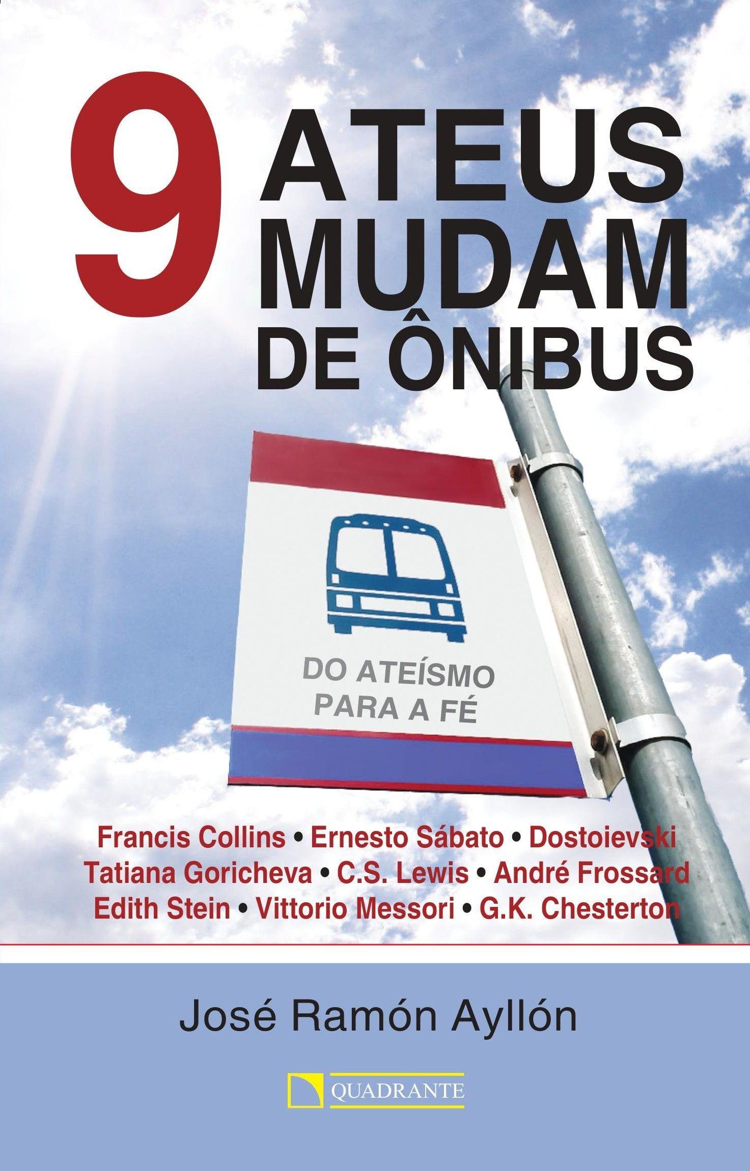 Livro 9 ateus mudam de ônibus